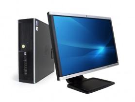 """HP Compaq 8300 Elite SFF + 22"""" HP Compaq LA2205wg Monitor (Quality Silver)"""