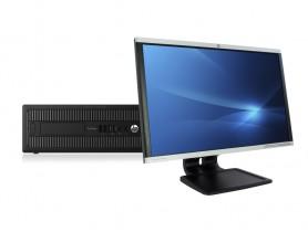 "HP ProDesk 600 G2 SFF + 24"" HP LA2405x Monitor (Quality Silver) Komplett PC - 2070318"