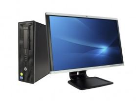 HP EliteDesk 800 G2 SFF + 24' HP LA2405x Monitor (Quality Silver)