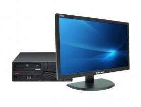 """Lenovo ThinkCentre M58e SFF + 22"""" Lenovo ThinkVision LT2252p (Quality Silver)"""