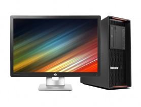 "Lenovo ThinkStation P500 + 24"" HP Elitedisplay E242 IPS Monitor (Quality Silver) Komplett PC - 2070325"