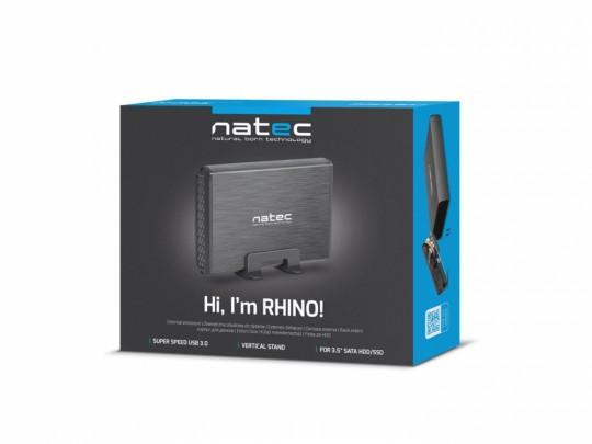 "Natec External box, HDD 3,5"" USB 3.0 Natec Rhino + AC Adapter HDD adapter - 2210007 #2"